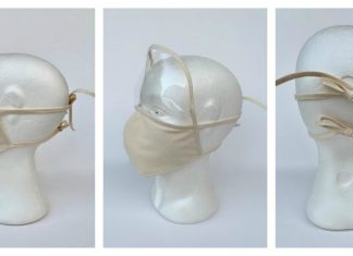 Face Mask With Visor Free Sewing Pattern