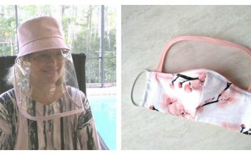 Face Shield Free Sewing Pattern