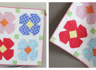 Floret Table Topper Free Sewing Pattern