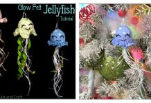 Glow Felt Jellyfish Free Sewing Pattern
