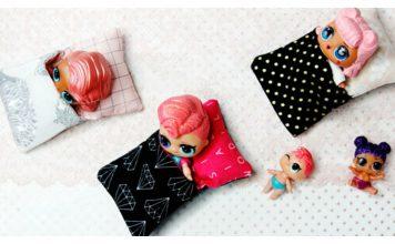 Little Doll Sleeping Bag Free Sewing Pattern