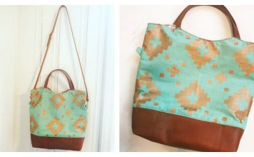 Mesa Crossbody Handbag Free Sewing Pattern