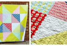Scrappy Star Quilt Free Sewing Pattern