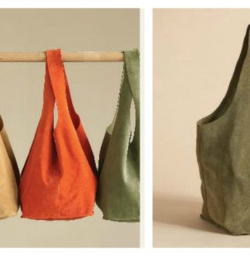 Soho Slouch Tote Free Sewing Pattern
