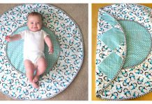 Travel Diaper Changing Pad & Playtime Mat Free Sewing Pattern