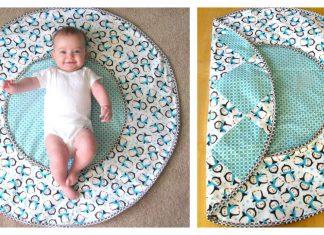 Travel Diaper Changing Pad & Playtime Mat Free Sewing Pattern