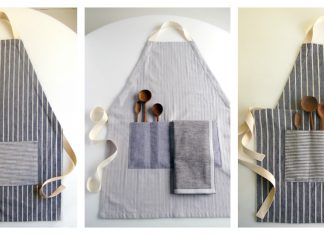 Adjustable Apron Free Sewing Pattern