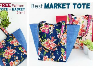 Market Bag Pattern Free Sewing Pattern