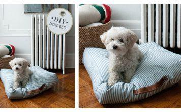 Pet Bed Free Sewing Pattern