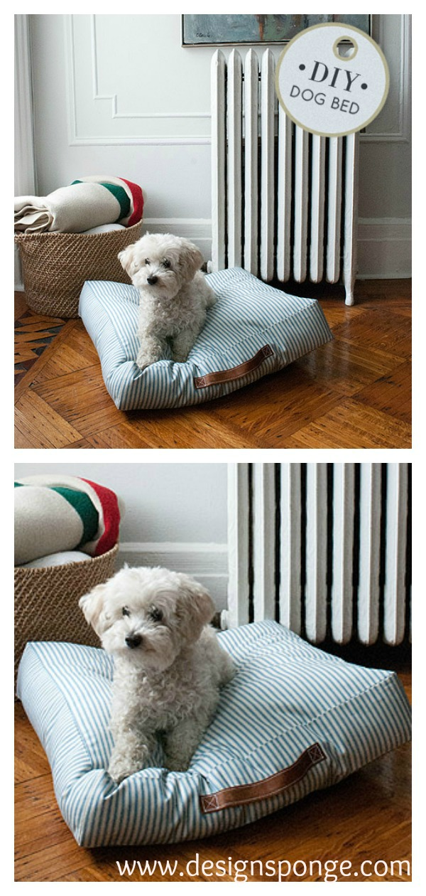 Pet Bed Free Sewing Pattern