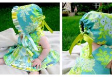 Ruffle Bonnet Free Sewing Pattern