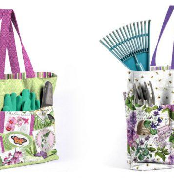 Versatile Tote Bag Free Sewing Pattern