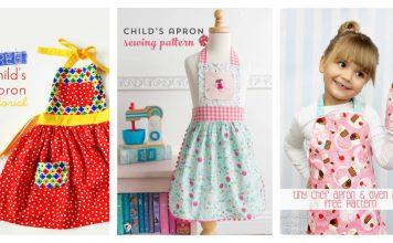 Child's Apron Free Sewing Pattern