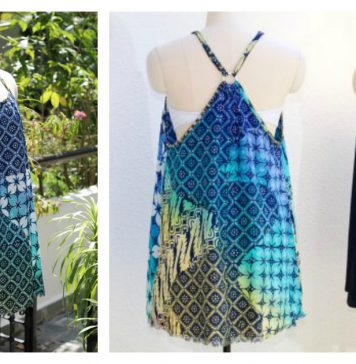 Easy Swimsuit Cover Up Free Sewing Pattern