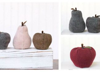 Fabric Fruit Free Sewing Pattern