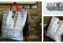 Foldable Market Bag Free Sewing Pattern