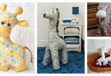 Adorable Giraffe Sewing Patterns
