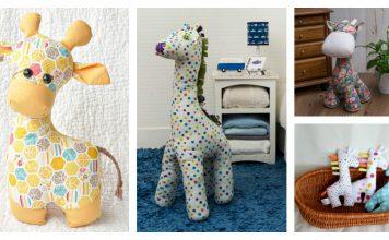 Adorable Giraffe Sewing Patterns