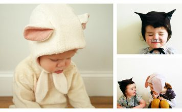 Animal Bonnet Free Sewing Pattern