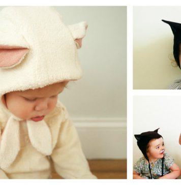 Animal Bonnet Free Sewing Pattern