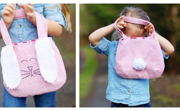 Bunny Bag FREE Sewing Pattern