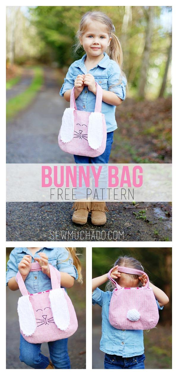 Bunny Bag FREE Sewing Pattern