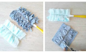 DIY Reusable Swiffer Duster Cloths Free Sewing Pattern