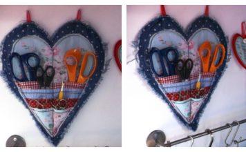 Heart-shaped Scissor Keeper Tutorial