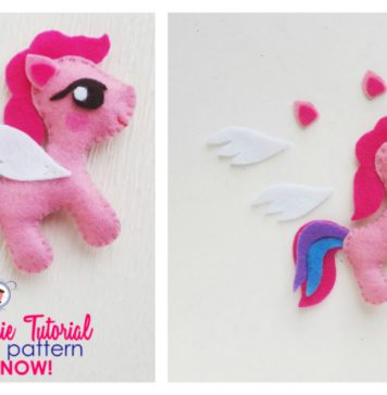 My Little Pony Free Sewing Pattern