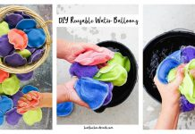 Reusable Water Balloons Free Sewing Pattern