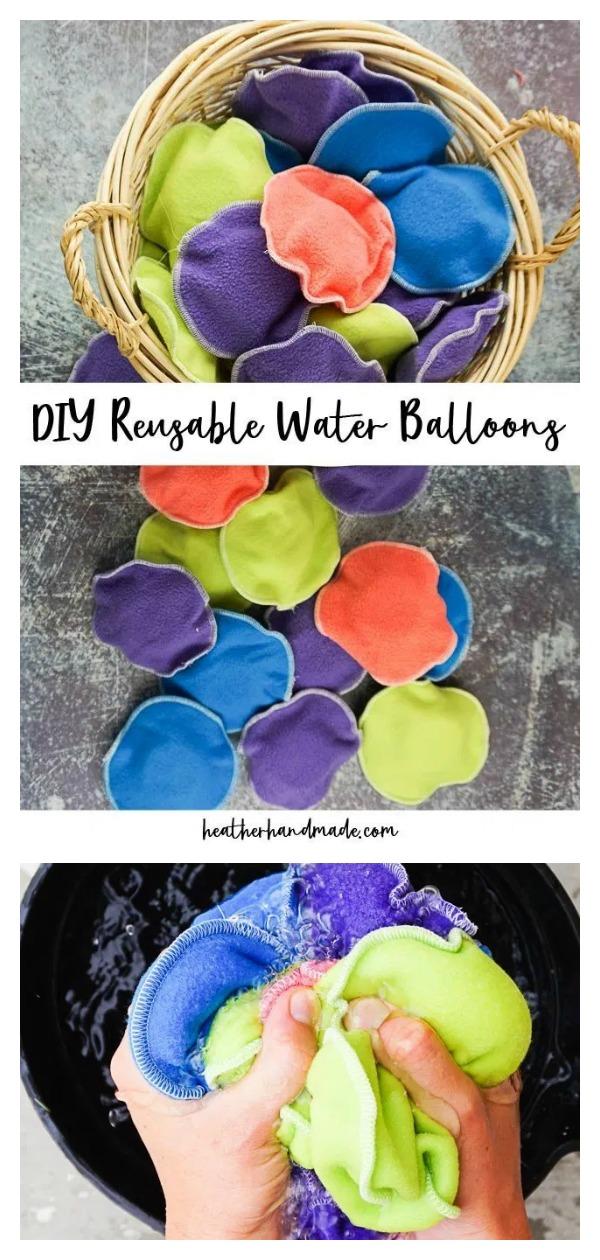 Reusable Water Balloons Free Sewing Pattern