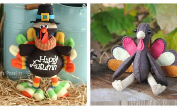Turkey Softie Free Sewing Pattern