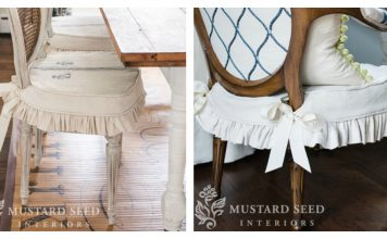 Dining Chair Slipcovers Free Sewing Pattern
