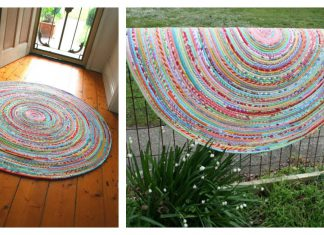 Fabric Rug Free Sewing Pattern