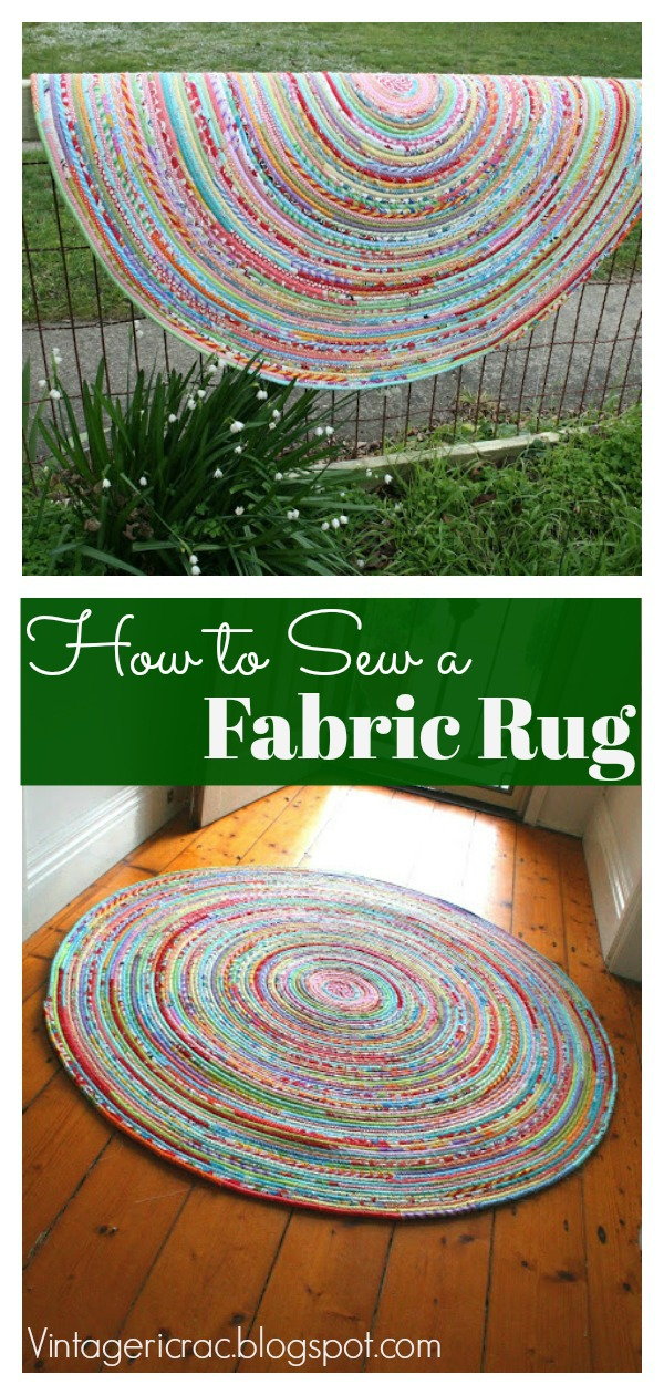 Fabric Rug Free Sewing Pattern