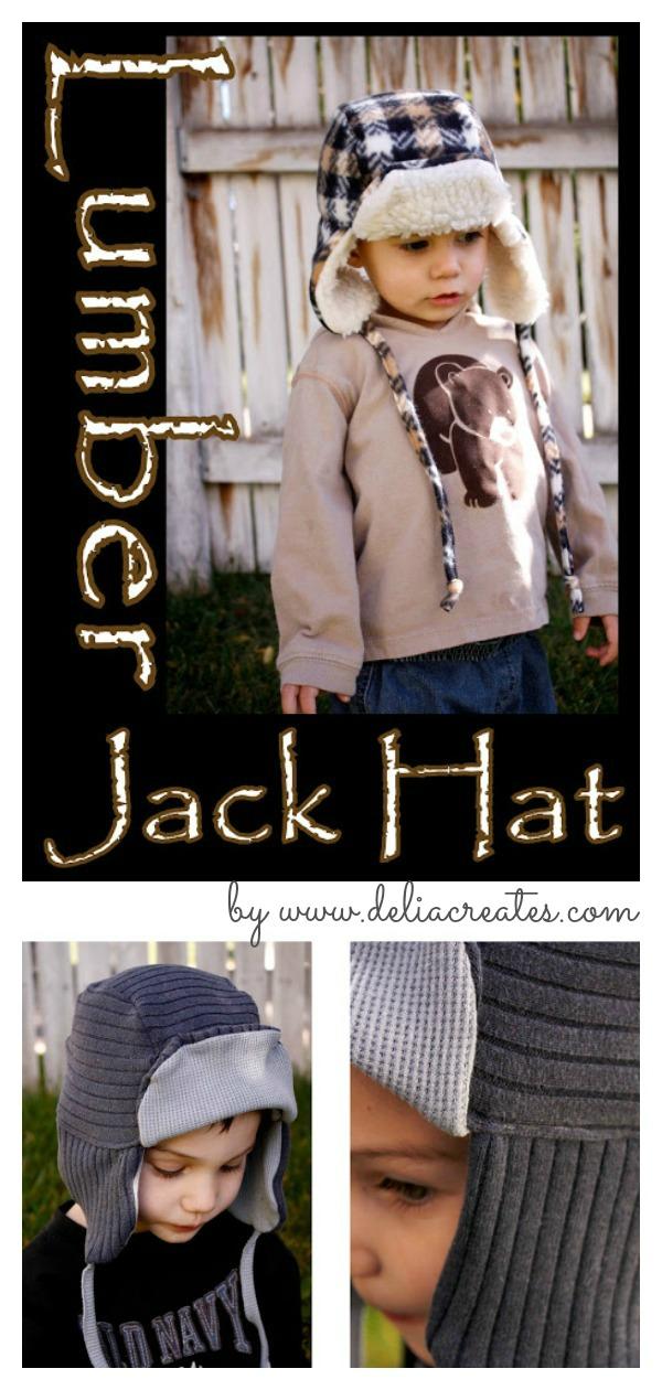 Lumber Jack Hat Free Sewing Pattern
