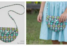 Simple Circle Purse Free Sewing Pattern
