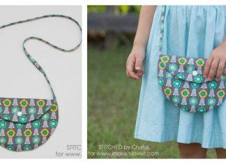 Simple Circle Purse Free Sewing Pattern
