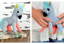 Stuffed Donkey Plush Free Sewing Pattern