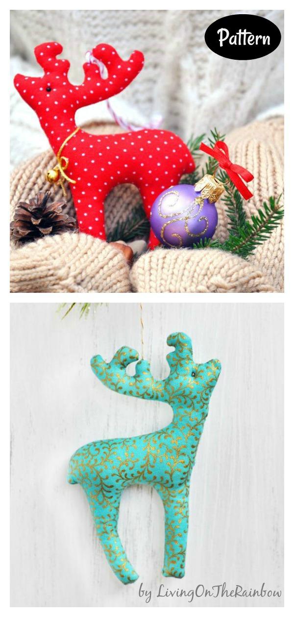 Christmas Reindeer Sewing Pattern