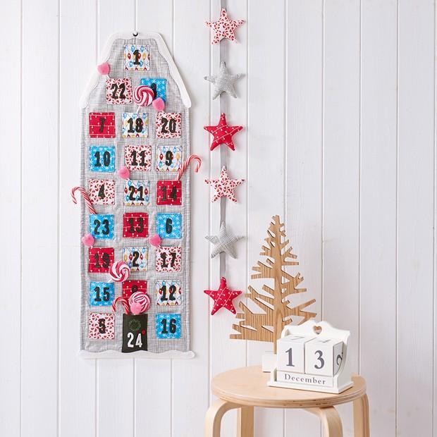 Fabric Advent Calendar Free Sewing Pattern