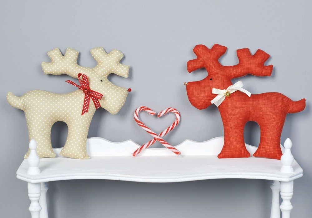Heirloom Reindeer Toys Free Sewing Pattern