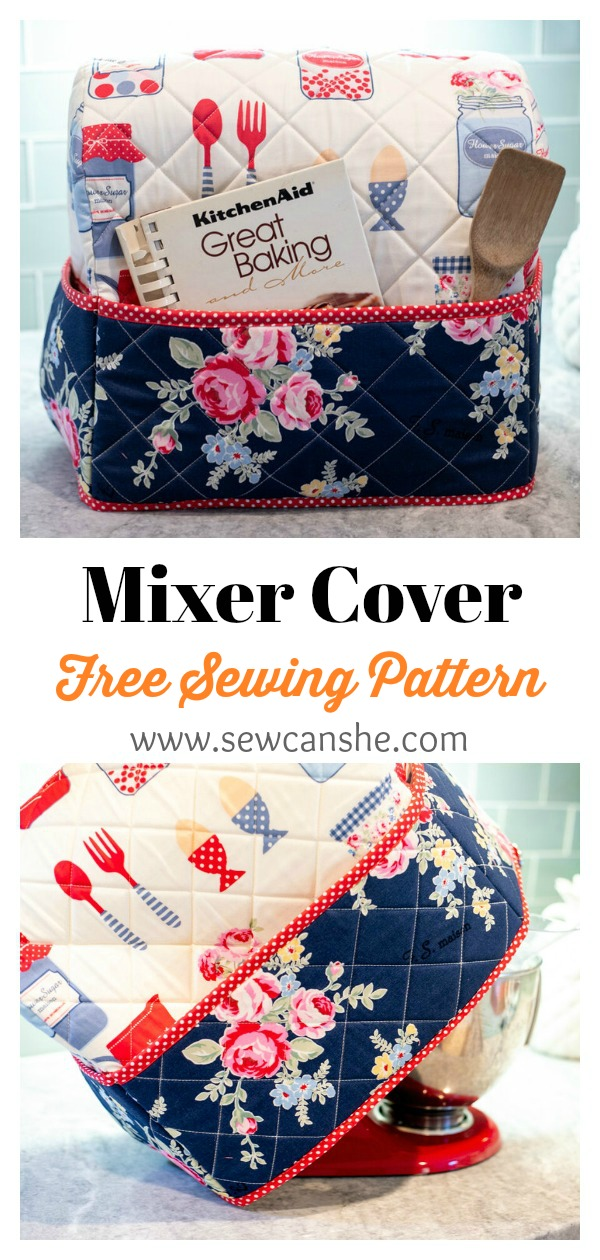 Mixer Cover Free Sewing Pattern