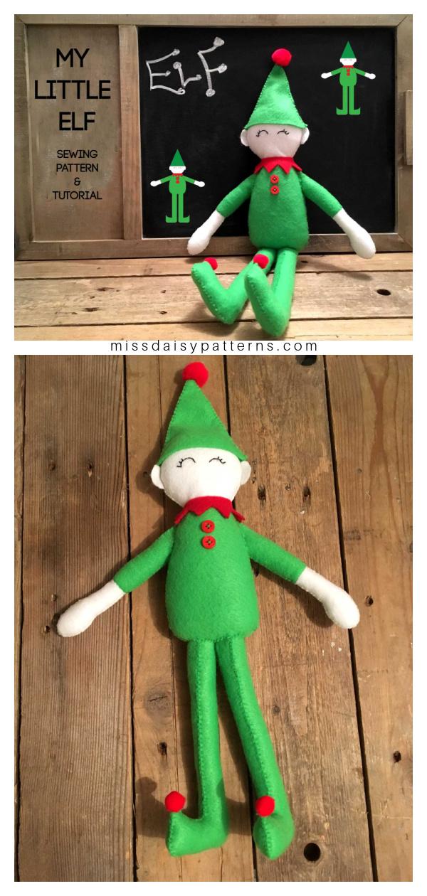 My little Elf Free Sewing Pattern