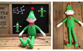 My little Elf Free Sewing Pattern