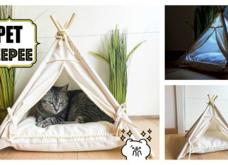 Pet Teepee House Free Sewing Pattern
