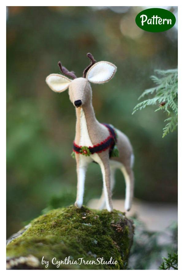 Reindeer Sewing Pattern