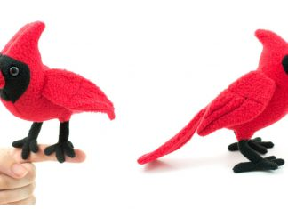 Cardinal Plush Free Sewing Pattern