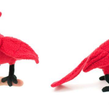 Cardinal Plush Free Sewing Pattern