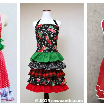 Christmas Apron Free Sewing Patterns